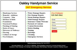 Oakley Handyman Company